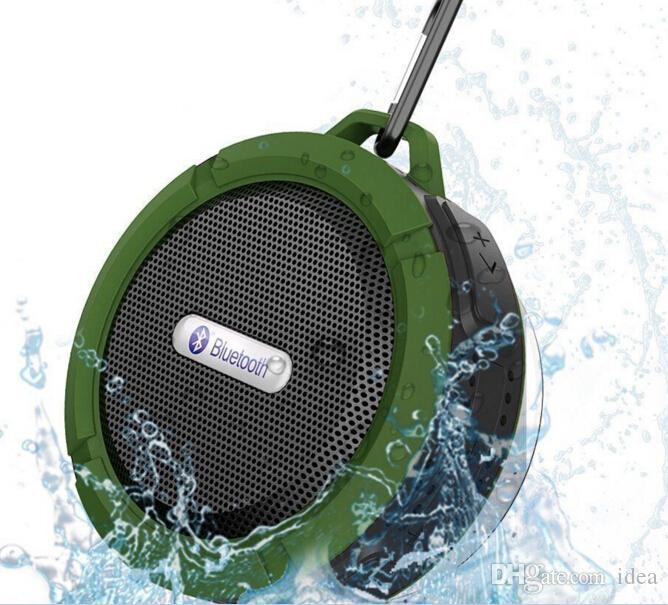 سماعات بلوتوث 3.0 لاسلكية مضادة للماء مع دش C6 مع بطارية قوية بقدرة تشغيل طويلة تصل إلى 5 وات