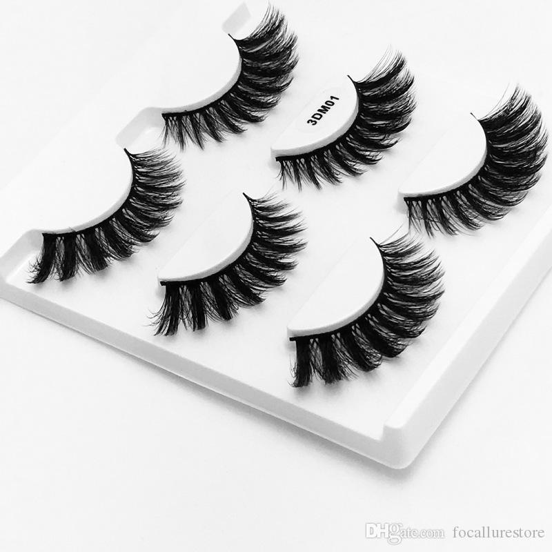 7 различных стилей 100% ручной работы 3D норки красоты волос толстые длинные накладные норки ресницы поддельные ресницы Ресницы высокое качество