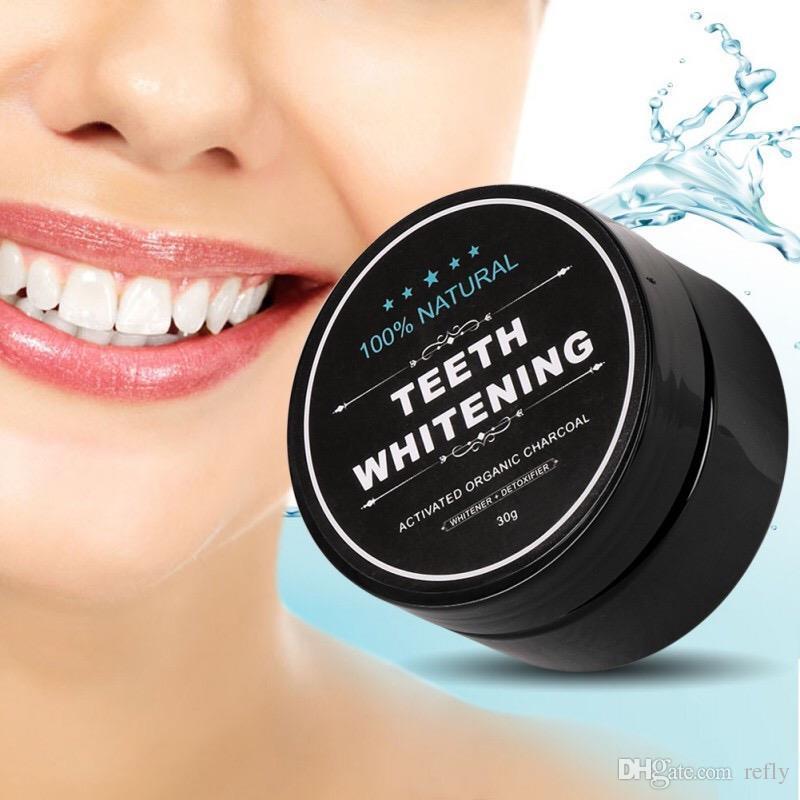 치아 미백 분말 자연 대나무 활성화 숯 미소 분말 오염 제거 치아 노란색 얼룩 대나무 치약 구강 관리 3006006