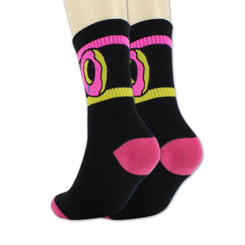 Abbigliamento moda Donna Articoli sportivi Calzini ciambelle per gli amanti Uomini \ '; S calzini sportivi Hip -Hop Calze da skateboard S
