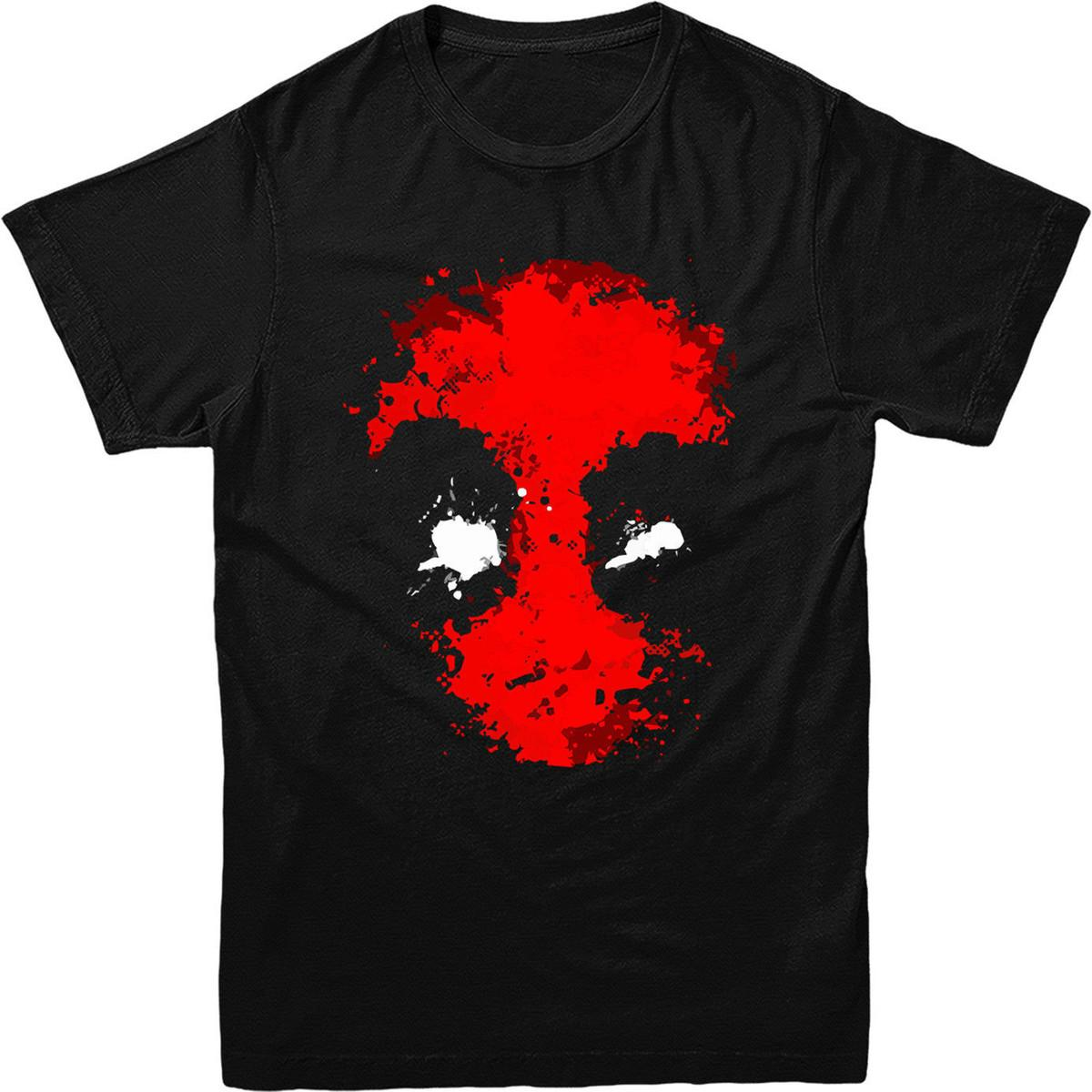 Deadpool FACE T-shirt, Marvel Comics T-shirt. Inspired Superhero T-shirt Tee Shirt Unisex More Size And Colors Youth