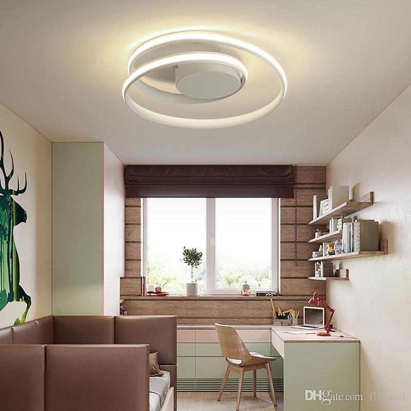 Großhandel Lustre Deckenleuchten LED Lampe Für Wohnzimmer Schlafzimmer  Arbeitszimmer Home Deco Moderne Leuchten Oberflächenmontierte Deckenleuchte  Von ...