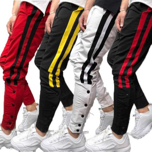 various design 100% satisfaction guarantee get new 2019 Mens Gym Slim Fit Trousers Tracksuit Bottoms Skinny Joggers Sweat  Track Pants From Buttonhole, &Price; | DHgate.Com