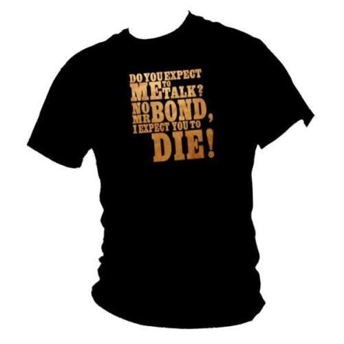 Großhandel James Bond 007 Goldfinger Zitat Herren T Shirt Von Specialtshirt 13 19 Auf De Dhgate Com Dhgate