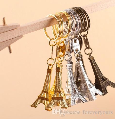 30PC توري برج ايفل سلسلة المفاتيح مفتاح التذكارات باريس برج إيفل سلسلة المفاتيح زفاف ريفي هدايا خاصة لذوي يرتكز الزفاف