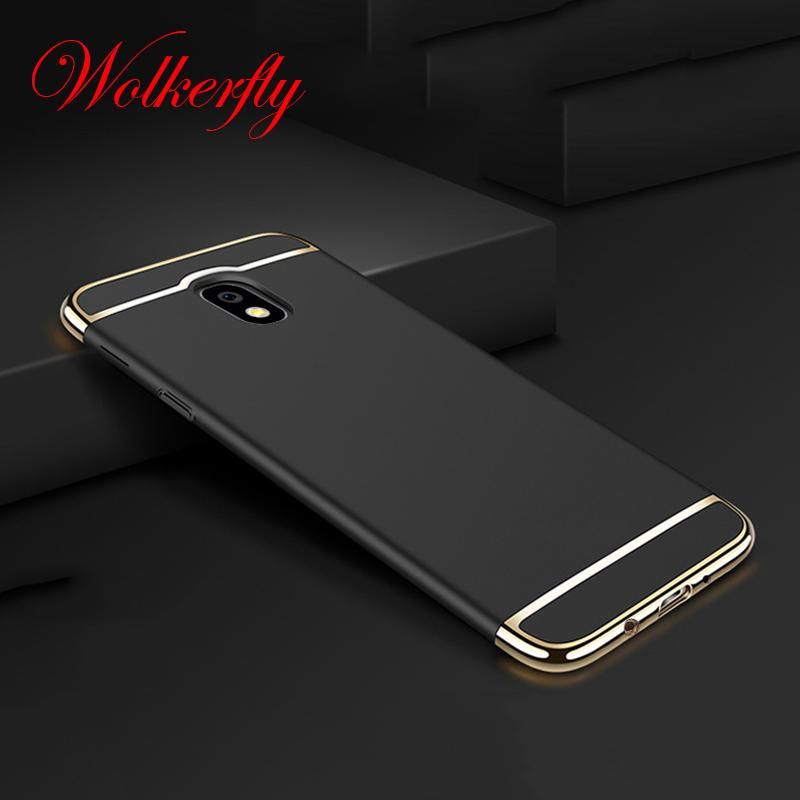 Luxury PC Case For Samsung Galaxy J3 J5 J7 2017 A5 A7 2016 S6 S7 Edge S8 Grand Prime Back cover for Samsung Galaxy S8 Plus case