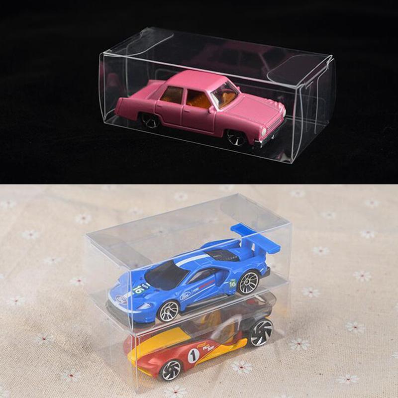 1000PCS 8.2*4.3*4.1 см ПВХ ясно спичечный коробок TOMY игрушка модель автомобиля 1/64 TOMICA горячие колеса пыли доказательство дисплей коробка защиты бесплатная DHL