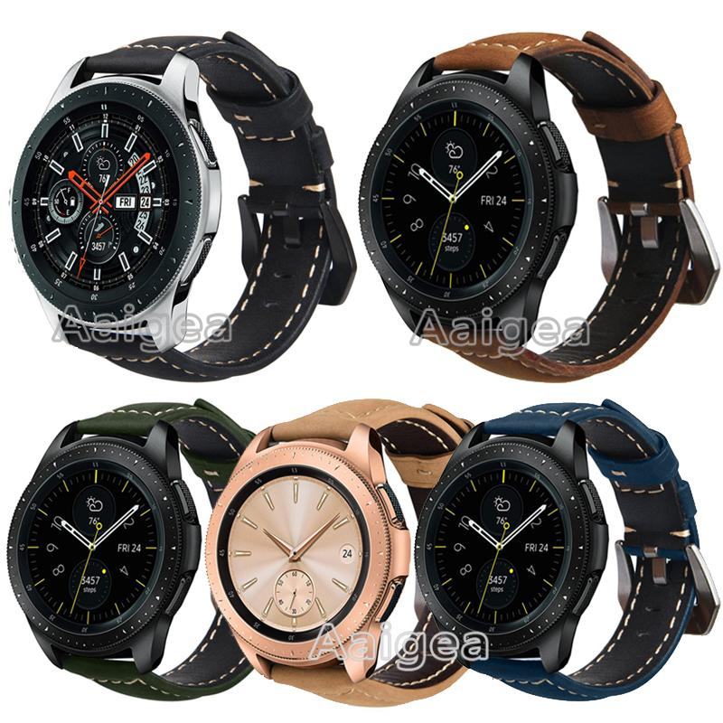 bracelet cuir galaxy watch 46
