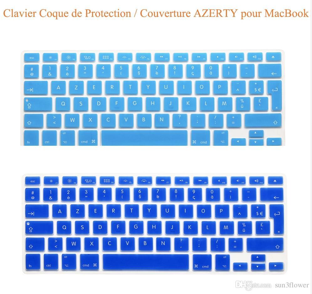 UK EU Silicone Keyboard Cover Skin sticker film for MacBook Pro Unibody 17'' inch A1297 Keyboard Protector Film