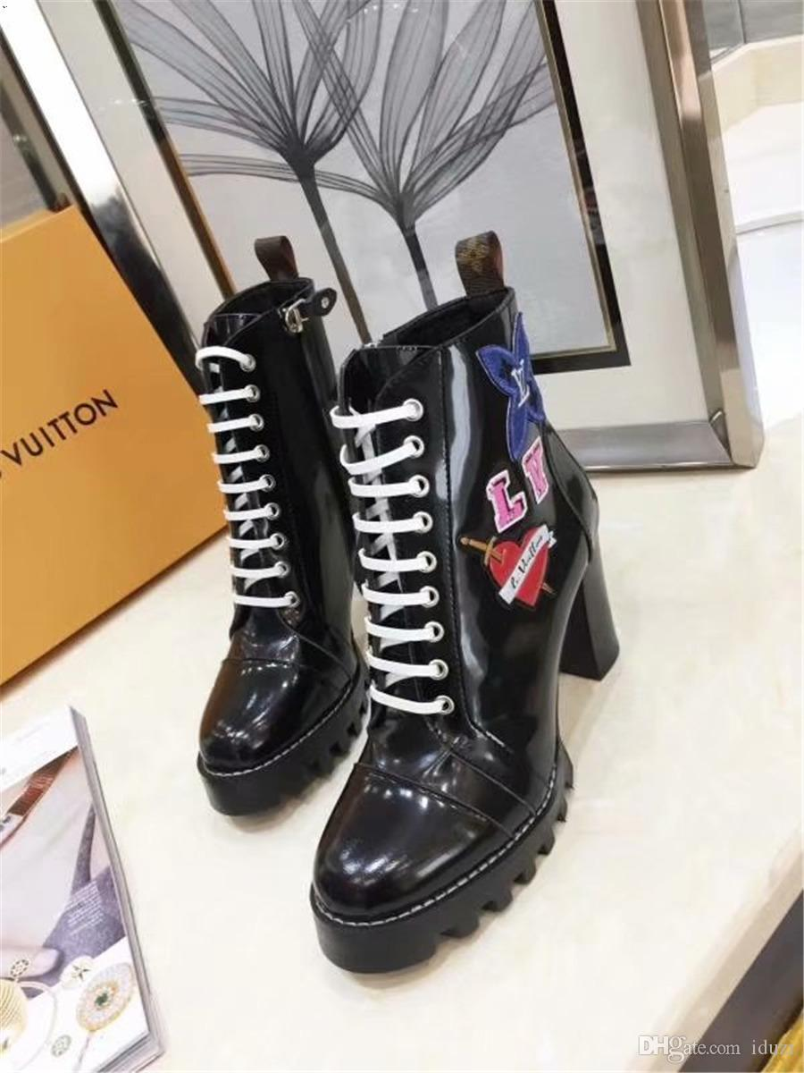 New Brand Women Boots Girls Designer Luxury Red Bottom Shoes Studded Spikes Party Footwear Autumn Winter High Top Women Casual Shoes