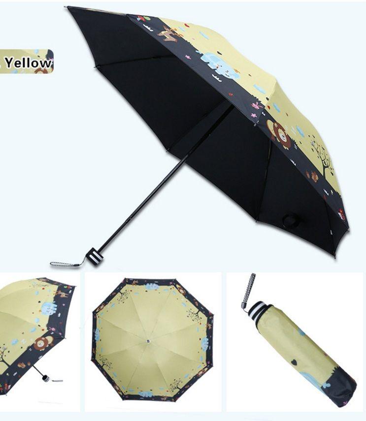 Satın Al Yaratıcı Mürekkep Boyama Rüzgar Yağmur şemsiye Güneş