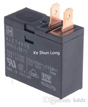 무료 배송 로트 (5 piece / lot) 오리지널 ALE14B05-5V ALE14B12-12V ALE14B24-24VDC ALE14B12-DC12V 4PINS 16A 5VDC 12VDC 24VDC 파워 릴레이