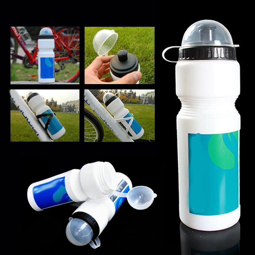 Bouteilles d'eau en plastique de catégorie comestible en plastique de qualité alimentaire de bouteille de sports à la maison 750ML de diamètre de bicyclette environ 70mm