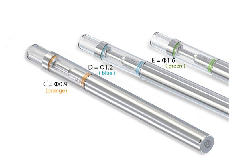 Empty Disposable Vape Pen 0.5ml Ceramic Coil Glass Tank 310mah Vape Battery Disposable Vape Pens Electronic cigarette Kits 150-200 Puff ecig