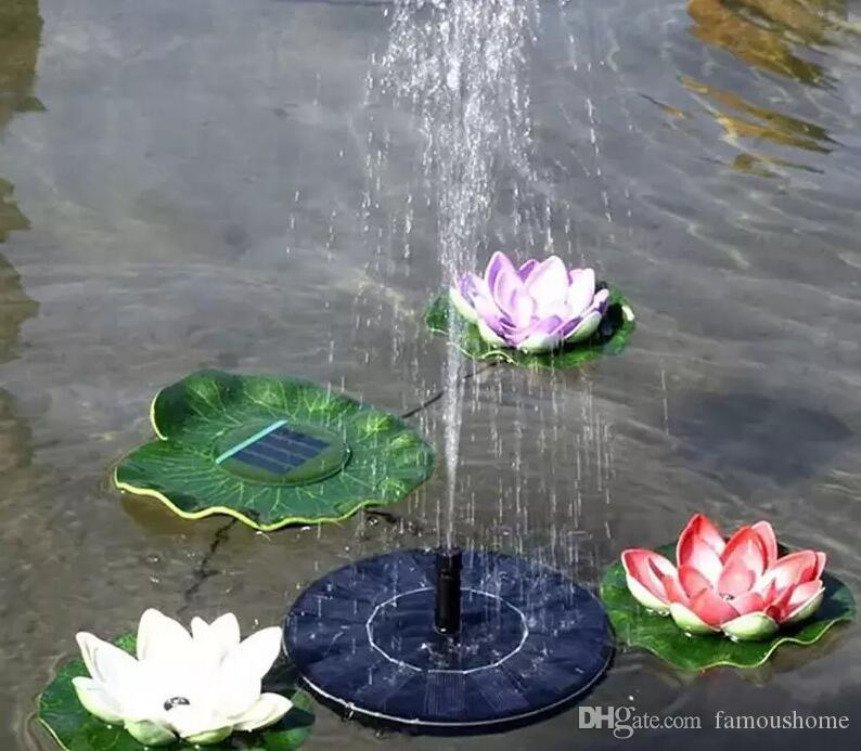 Bomba de agua de manantial de 160 mm de energía solar Kit de paneles Fuente Piscina Estanque de jardín Pantalla de riego sumergible Energía solar Auto-spring