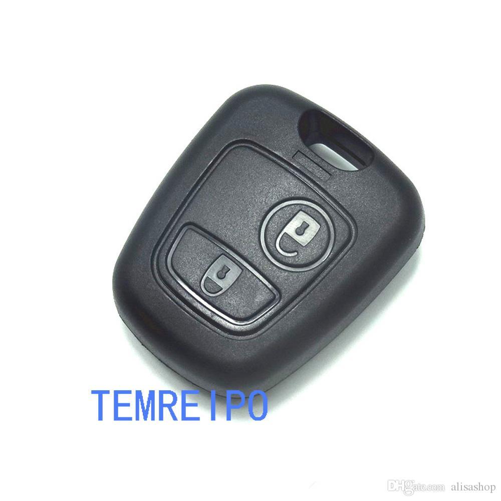 2 Кнопки Дистанционного Ключа Автомобиля Чехол Брелок Для Citroen C1 C2 C3 Pluriel C4 C5 C8 Xsara Пикассо Крышка