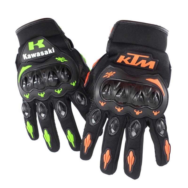 Hot Sale!! Summer Winter Full Finger motorcycle gloves gants moto luvas motocross leather motorbike guantes moto racing gloves