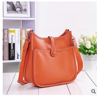 2016 new high quality genuine leather women bag handbag messenger bag brand designed fashion vintage women shoulder bag Y18102603