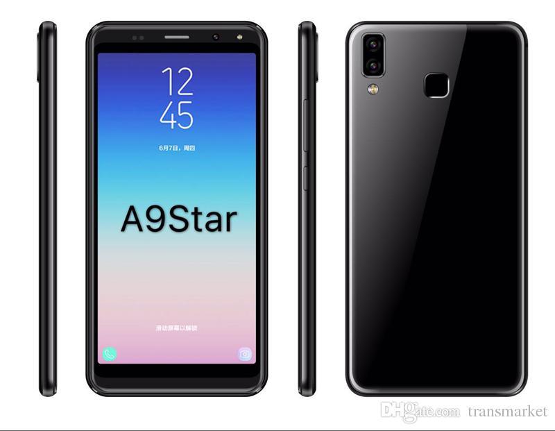 1900mAh емкость батареи телефон 512MB Ram 4 Rom 5.72 Inch A9 Star смартфон MTK6580M четырехъядерный 3G Android 5.1.0 операционная система Мобильный телефон