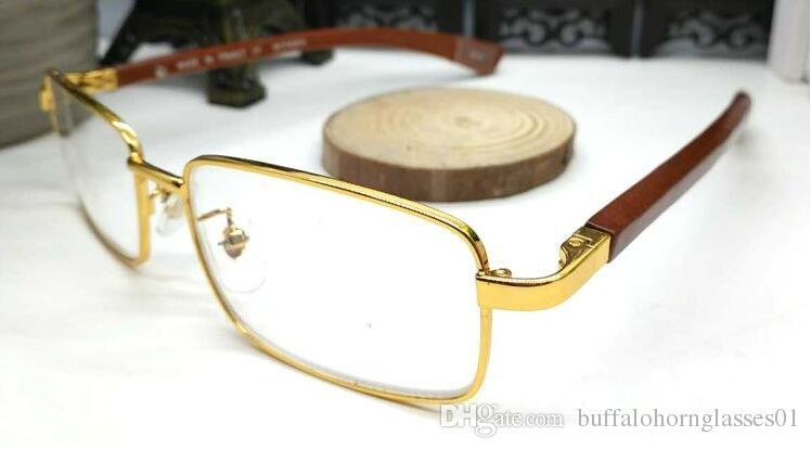 2020 new fashion Rimless Sunglasses Mens Wood And Nature Buffalo Horn Shield Mens Driving Shade Eyewear Sport Attitude Glasses Sun Glass