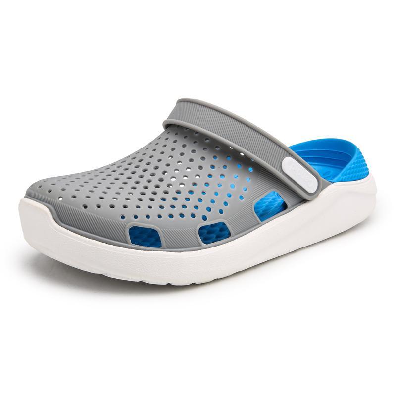 Summer Mule Clogs For Men Fashion Classic EVA Lightly Garden Clog Shoes Male Men's Slippers Flip Flops Sandal Shoes