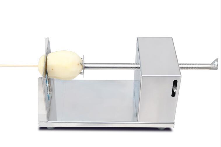 الأسرة البطاطا الخضار القاطع آلة دوامة آلة القطع ، أداة مطبخ الشواء
