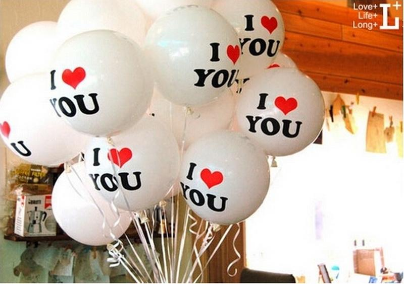 10Pcs/Lot Love Pearl Latex Helium Balloons Inflatable Wedding Balloons Children Birthday Party Decoration Air Balls