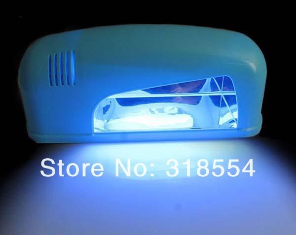 6pcs IT IS 9w 200V White Nail Art Gel CURING UV Tube Lamp Led Light Nail Dryer Acrylic Curing Light Spa Kit