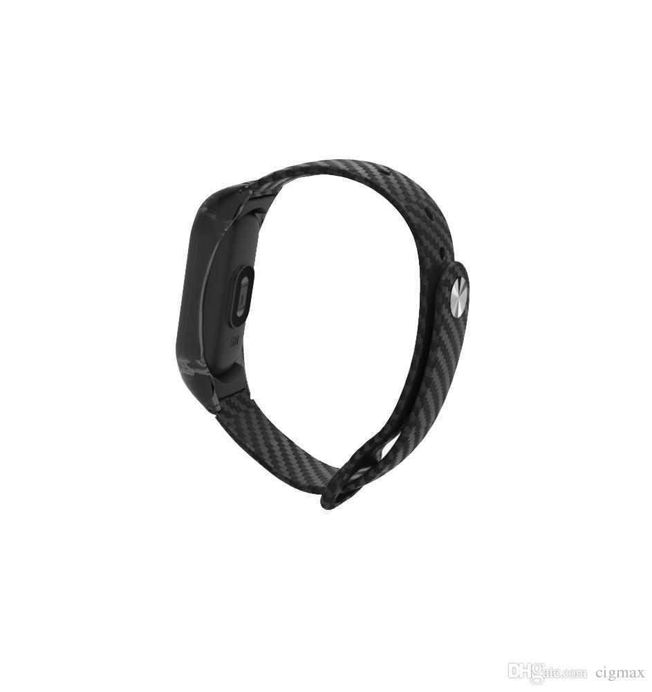 Nouveau bracelet de mode sport bracelet bracelet en cuir TPE pour Xiaomi Mi bande 2