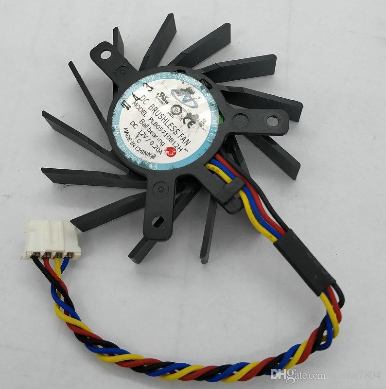 ATI PLB05710B12H 12 V 0,2A doppelkugellager lüfter thermostat stecker 4 P