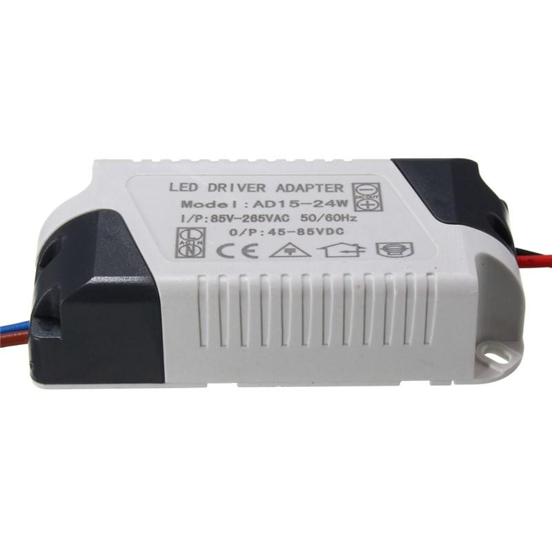 توريد سائق AC85-265V LED محول الطاقة LED ضوء مصباح الإضاءة محول 300MA 1-3W 5W 7W 12W 15W 24W