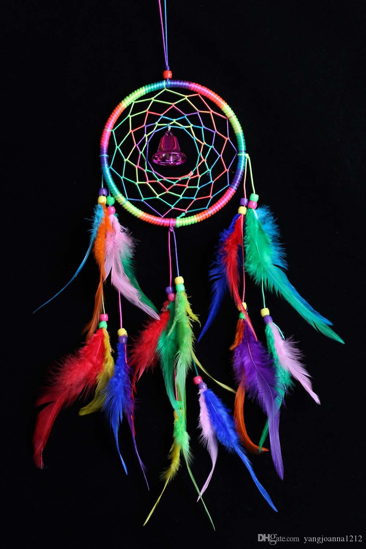 Colorful Handmade Dream Catcher Net Hanging Home Car Decoration Craft Decor