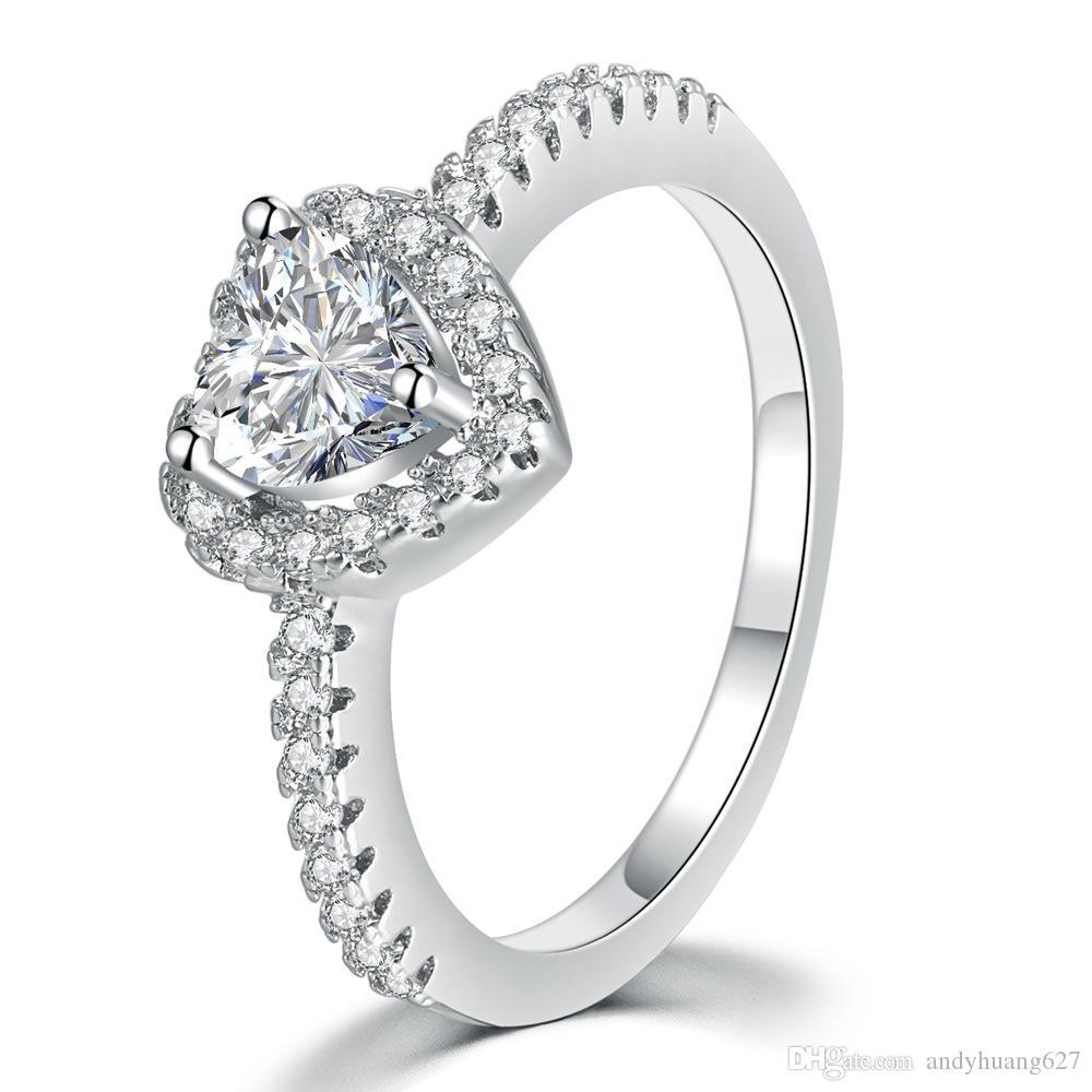 pandora anello a forma di cuore