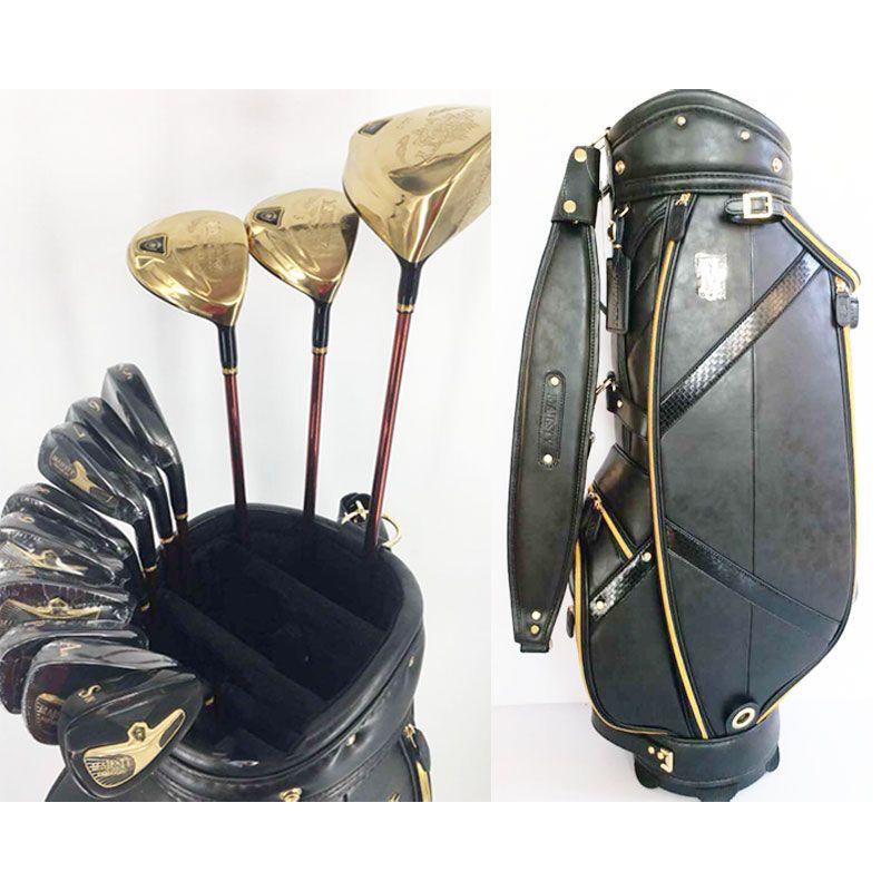 Nuovi club di golf da uomo Maruman Majesty Prestigio golf club completi set driver + fairway wood + putter + bag grafite shaft headcover Spedizione gratuita