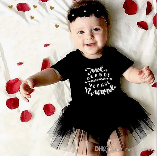 Toddler Baby Kid Girls Fancy Black Cotton Short Sleeve Mini Dress Party Holiday