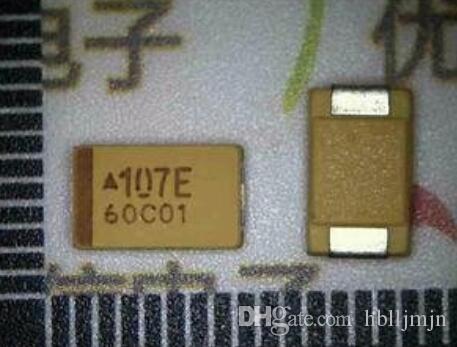 50 sztuk 7343 25V 100UF D 10% SMD Tantalum kondensatory