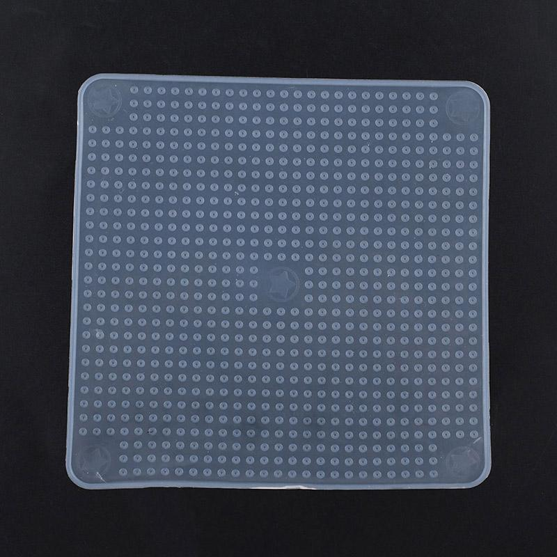 Silicone-Wrap-Seal-Cover-Stretch-Cling-Film-Tool-Food-Fresh-Keeping-Reusable-Multifunctional-14-5X14-5cm