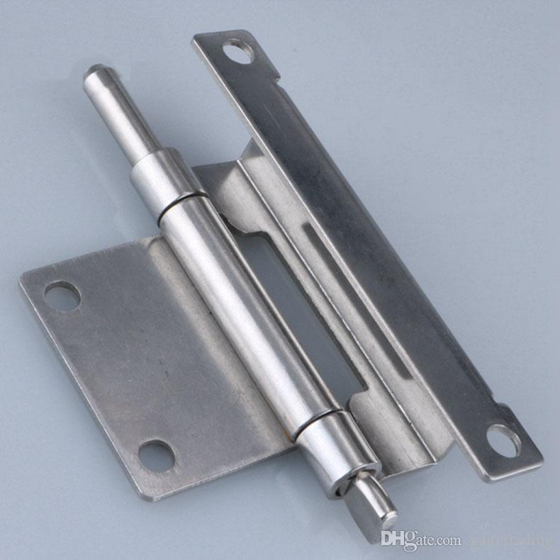 Изгиб съемный дверной шарнир распределительный шкаф шарнир PS переключатель блок управления сети случае инструмент фитинг аппаратная часть