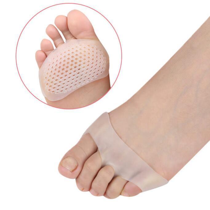Mujeres tacones altos antideslizante almohadilla para el alivio del dolor del pie transpirable celular suave SEBS Cushion Toe Separator NNA251
