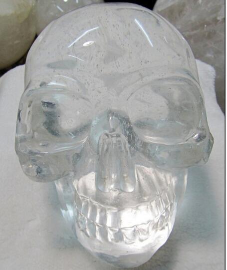 Les ornements de crâne de cristal ont découpé des morceaux de développement industriel spirituel de Wangcai du méchant méchant 20 * 1