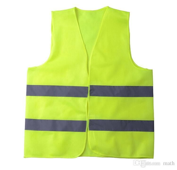 New High Visibility Working Safety Construction Vest Warning Reflective traffic working Vest Green Reflective Safety Clothing 300pcs