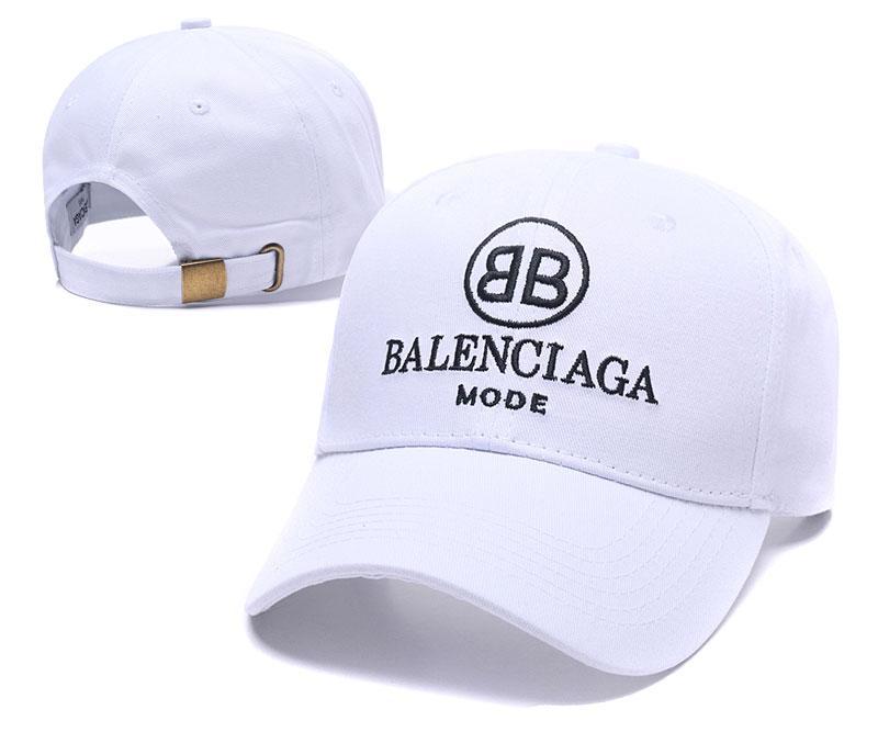2018 kpop VETEMENTOS Big Daddy 18FW BNIB Logo Unisex blanco Gorra de béisbol Gorra de béisbol táctica de papá ajustable casquillo de gorrita tejida