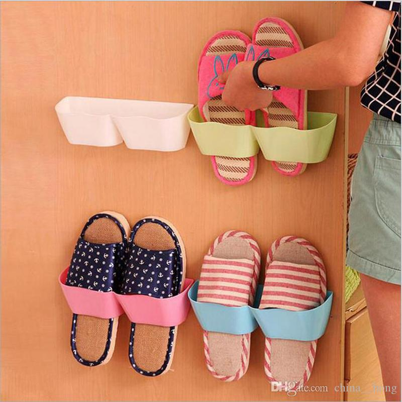 Simple shoes wall hangers Living room bath men women child shoes hanger saveing room great product 5 colors can choose