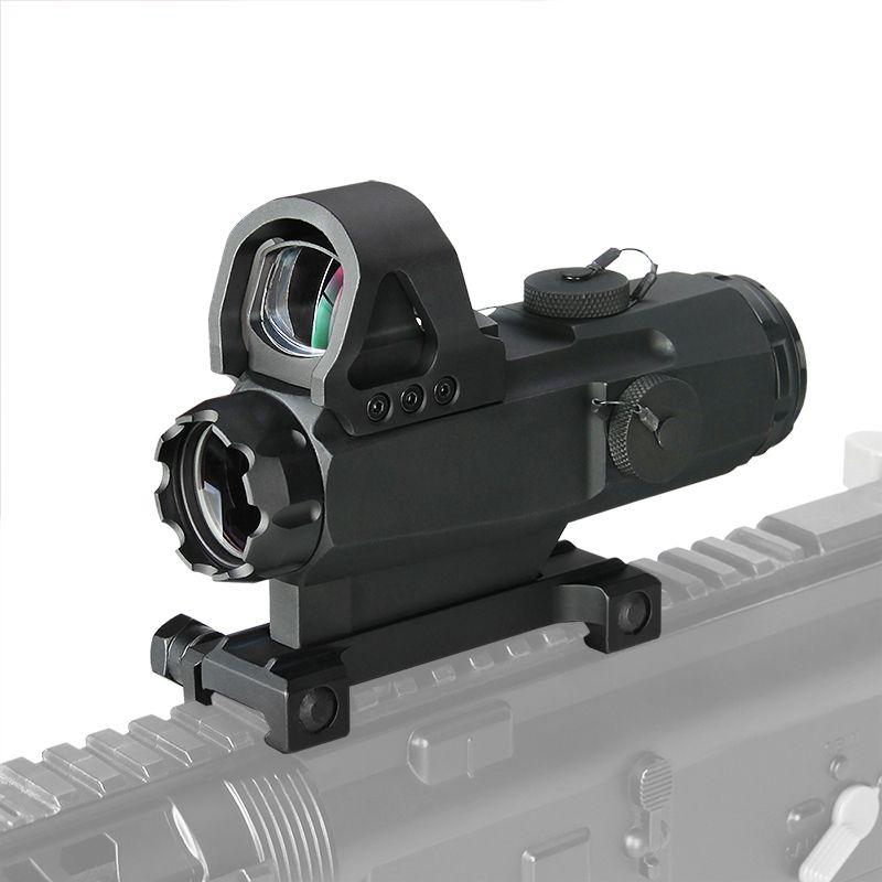 PPT Tático 4x24mm Rifle Scope com Marca 4 Alta Precisão Multi-Range Riflescope HAMR Para A Caça Ao Ar Livre CL1-0403