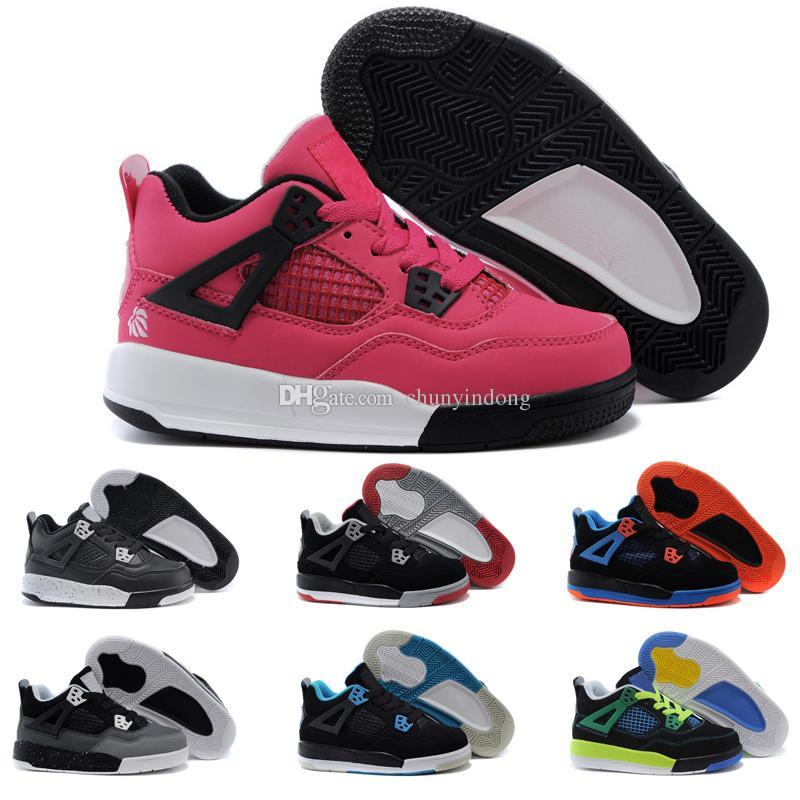 Acheter Nike Air Jordan 4 13 Retro Garçon Filles 12 12s Gym Rouge ...