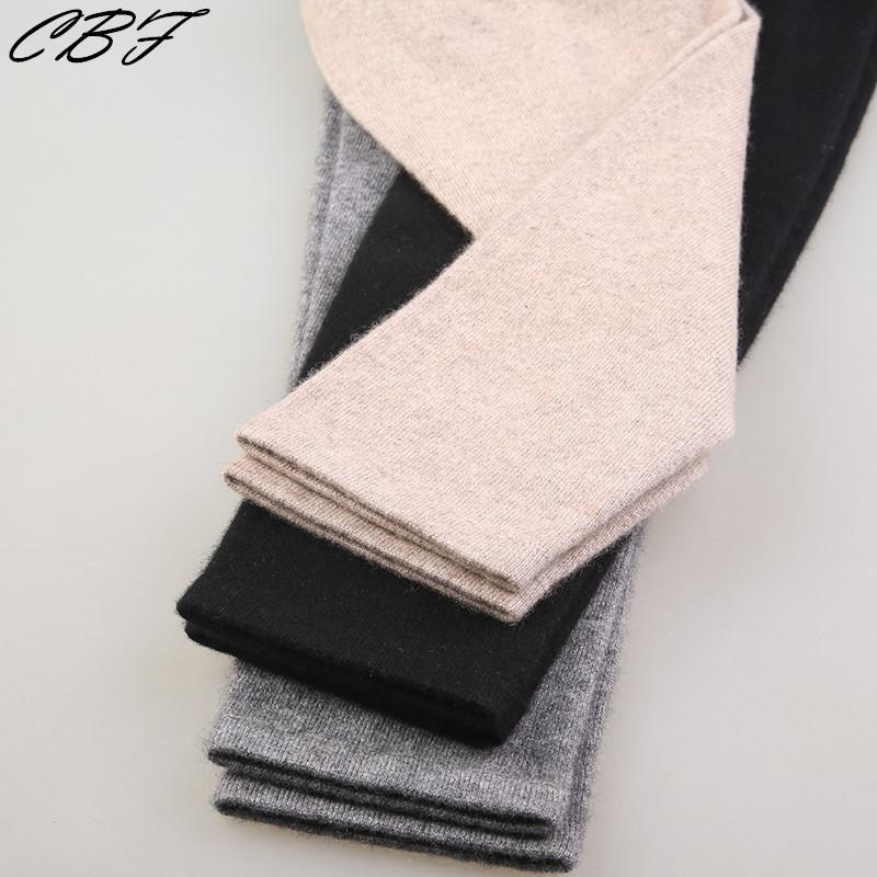 Neuer Speicherrabatt Neuer Art Momen Kaschmir-warme Hosen gestrickte lange Unterhosen Spandex-Gamaschen Qualitäts-freies Verschiffen