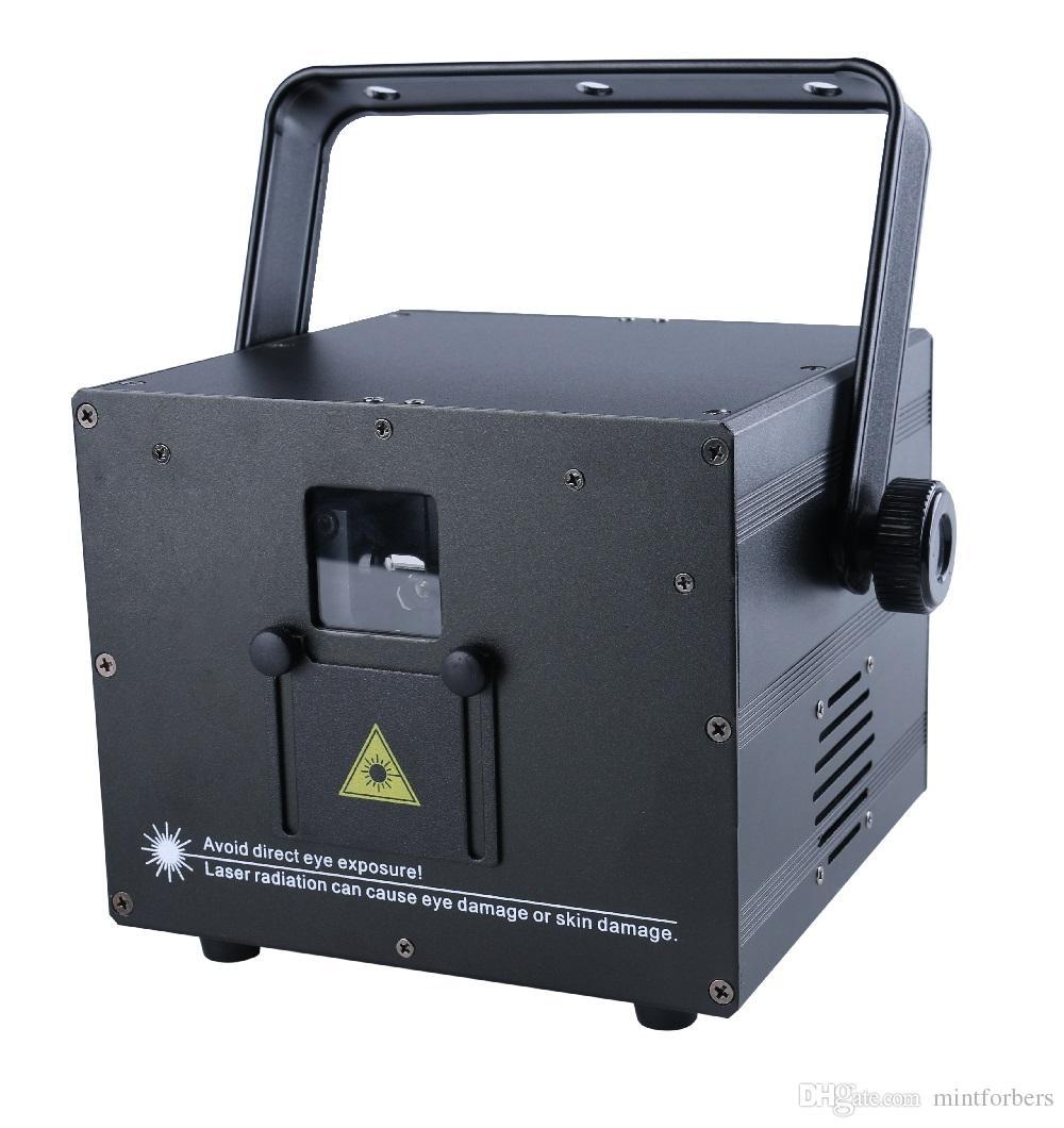 escáner 3W RGB animación a todo color de luz láser analógico ILDA 30K automático de sonido DMX ILDA 256 patrones