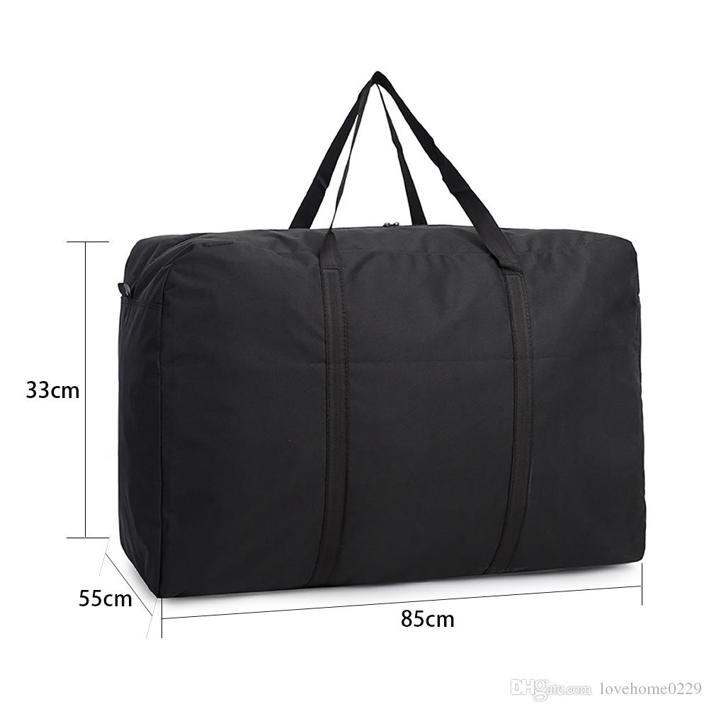 Large Bedding Storage Bag Portable Waterproof Laundry Bag Camping Bag, College Carrying Bag, Moving Bag Travel Cargo Bags