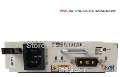 Original e Brand New Huawei inteligente MPWD AC Power Board para MA5608T GPON EPON OLT para Make a diferença 50 USD