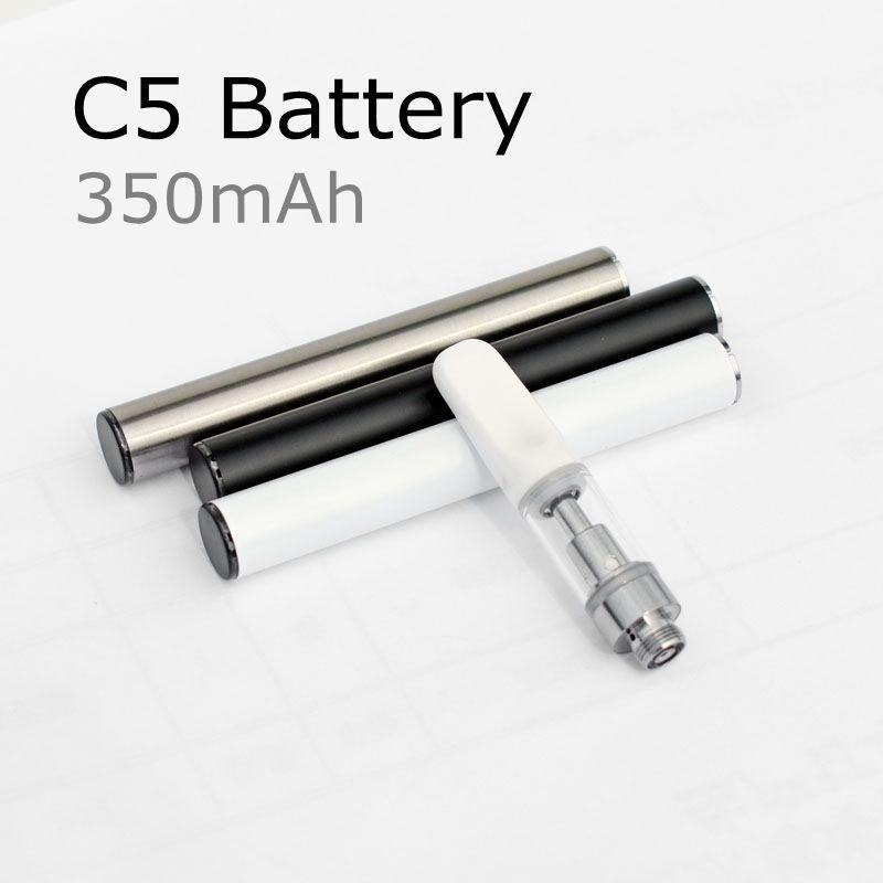 C5 Vape Pen аккумулятор 510 резьба батареи 350 мАч с USB зарядное устройство для Th205 картриджи 92a3 танки электронная сигарета ecig разогреть аккумулятор